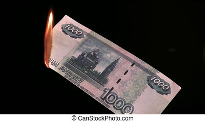fire rubles - Fire of  rubles
