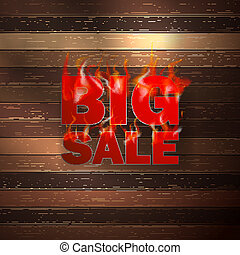Fire Sale for hot flame design.
