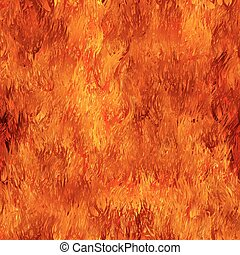 Fire seamless background
