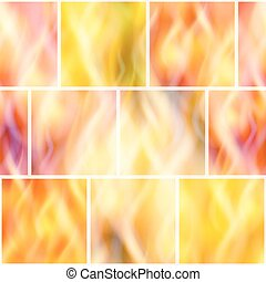 Fire, Seamless Background