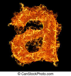 Fire small letter A