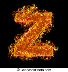 Fire small letter Z