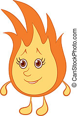 Fire smiley