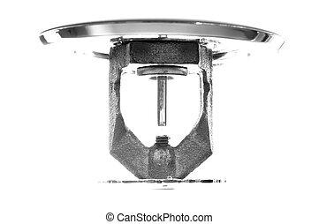 Fire Sprinkler - Close up isolated image of fire sprinkler...