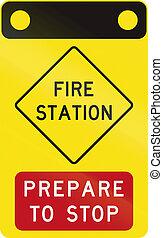 Fire Station in Australia