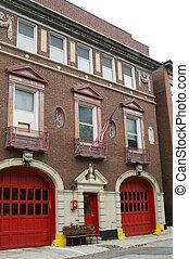 Fire Station in Boston