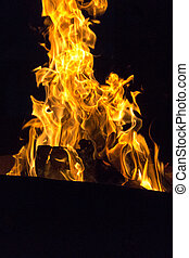 Fire symbol of passion and love
