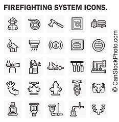 Fire system icon