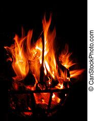Fire Torch - fire torch detail