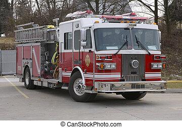 Fire Truck - Fire Engine
