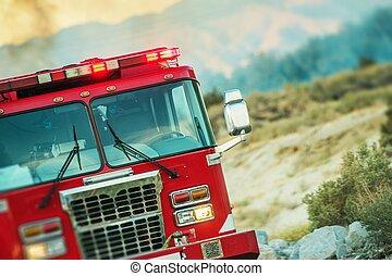 Fire Truck Rescue Operation