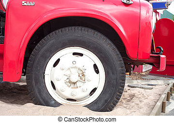 fire truck wheels