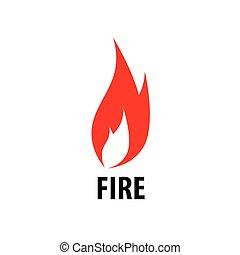 fire vector logo