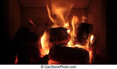 Fire. The ambiance is perfect for cafes and restaurants...