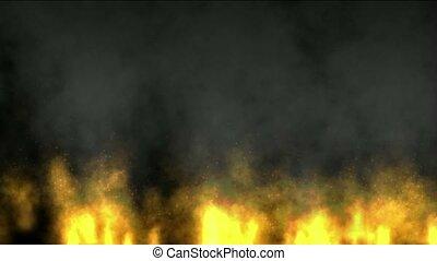 Fire wall,oilfield,military war