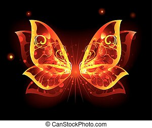 Fire Wings of Butterfly