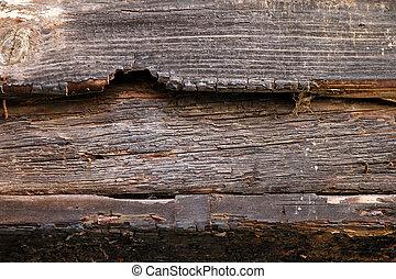 Fire wood beam