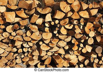 Fire wood detail