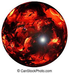 Fireball - A fantasy fireball