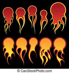 fireballs