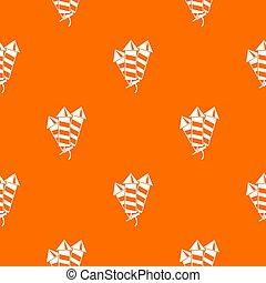 Firecrackers pattern seamless
