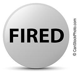 Fired white round button