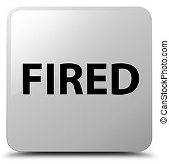 Fired white square button