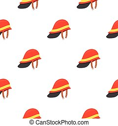 Firefighter Helmet icon cartoon. pattern silhouette fire equipment icon from the big fire Department cartoon.