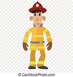 firefighter, litera, rysunek