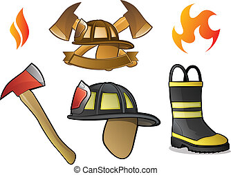 Firefighter Logos - Collection of Firefighter/Fireman...