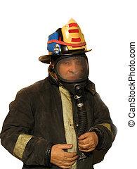 Firefighter mask 1