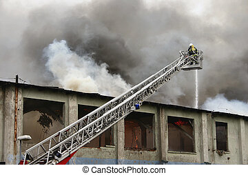 firefighter on duty