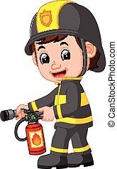 firefighter, rysunek