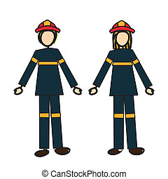 Firefighters couple