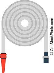 firehose, vector, illustration.