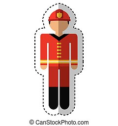 fireman avatar character icon