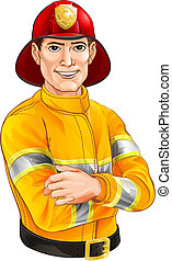Fireman cartoon