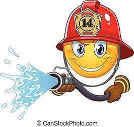 Fireman emoticon