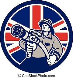 fireman-firefighter-hose CIRC GR UK-FLAG