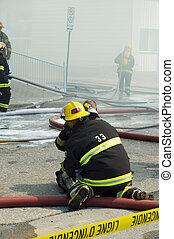 Firemen at work 6