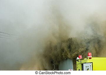 Firemen at work 8