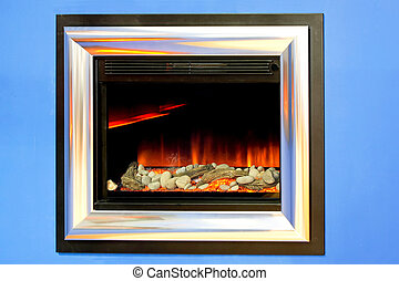 Fireplace electronic