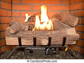 Fireplace Gas