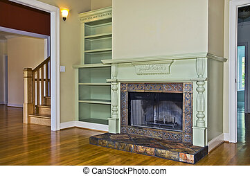 Fireplace in a Room