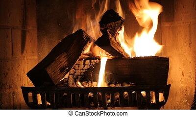 Fireplace interior