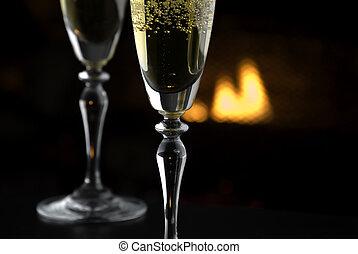 Fireside Champagne 1