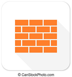 firewall flat icon
