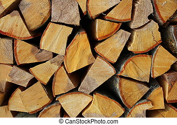 firewood, background