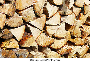 Firewood background