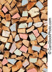 Firewood background
